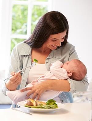 L'alimentation à avoir pendant l'allaitement