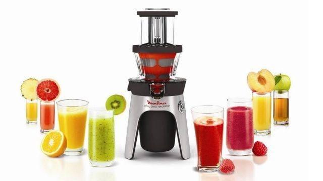 fruits et les légumes centrifugés