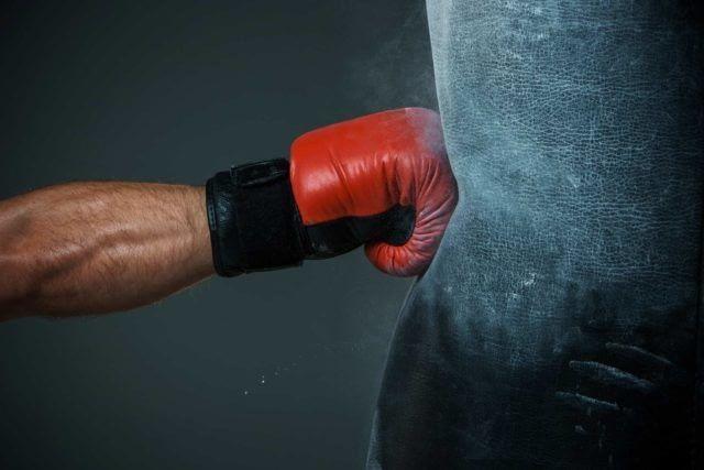cardio punching-ball