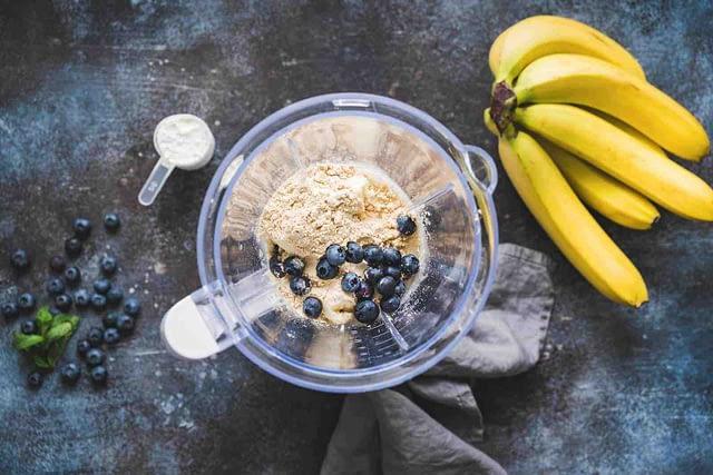 recette poudre proteines banane